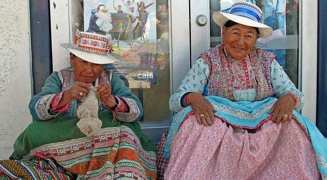 obyvatelé Peru